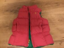 Ralph Lauren padded down filled reversible gilet, suit age 2