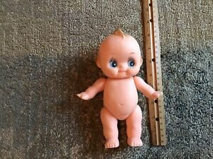"Vintage Kewpie Rubber Doll 8"" Articulated AWESOME!!!!!!! Made In Taiwan"