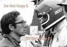 Jacky Ickx & Mauro Forghieri Ferrari Portrait German Grand Prix 1972 Photograph