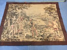 Antique 1930's Medieval Wall Tapestry