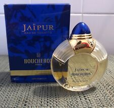 Vintage Boucheron Jaipur Eau De Toilette 1.7 Fl Oz with Box