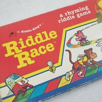 Riddle Race Board Game Replacement Pieces Educational Rhyming Reading Toy Parts