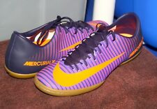 NIKE MERCURIALX VICTORY VI IC US 12 EU 46 Mens Indoor Court Soccer Shoe Purple
