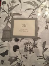 Marks & Spencer Bed Set, Duvet Set, Green, Double 50% Cotton 50% Polyester, New
