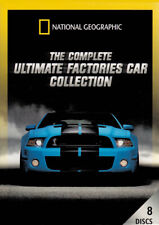 THE COMPLETE ULTIMATE FACTORIES CAR COLLECTION (8-DISCS) (NATIONAL GEOGRAP (DVD)