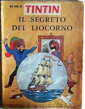 GLI ALBI DI TIN TIN ANNO I N.2 1965 GANDUS EDITORE IL SEGRETO DEL LIOCORNO