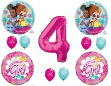 Fancy Nancy 4th Birthday Party Balloons Decoration Supplies Clancy