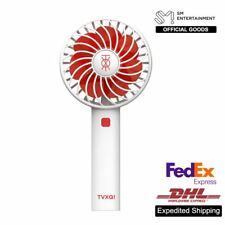 TVXQ! SM Official Goods Rechargeable Fan Air Cooler Mini Operated Hand Held