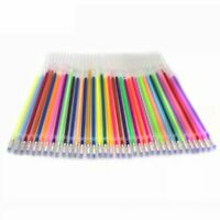 48 Color/SET Refill Multi Colored Painting Gel Ink Ballpoint Pens Refills Rod TQ