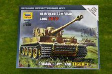 Zvezda tedesco PESANTE CARRO ARMATO TIGER 1 1/100 SCALA 6256