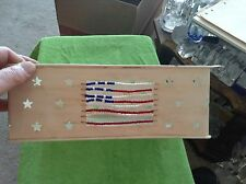 Metal patriotic basket sifter