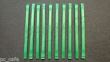 10X Nylon Plastic Spudger Green Opening Repair Tool for iPhone, iPad, Laptops