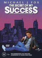 The Secret Of My Success (DVD, 2003) Michael j Fox R4 Brand New Sealed
