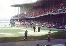 1959 EDDIE SAWYER PHILADELPHIA PHILLIES LASER PHOTO PRINT IN CONNIE MACK STADIUM