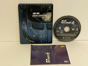 Gran Turismo 6 15th Anniversary Edition (Sony PlayStation 3, 2013)Steelbook
