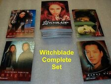 Witchblade Tv Series - complete base set trading cards