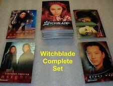WITCHBLADE TV SERIES - complete base set trading cards