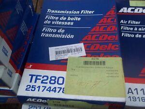 GENUINE   Auto Trans Filter Kit ACDelco Pro TF280