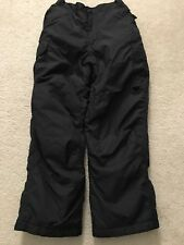 RAWIK Black Insulates Ski Snow Pants, Youth Size M (10-12)