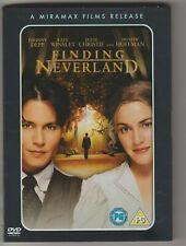 Finding Neverland UK movie dvd