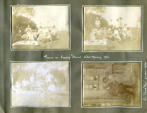 page retrieved from 1920 album 10 photos Picnic Epping Forest & Hunstanton