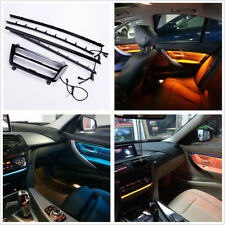 Blue&Orange LED Central Console Door Panel Decor Atmosphere Lamp For BMW F30/F31
