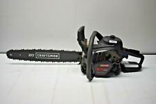 CRAFTSMAN 50-cc 2-Cycle Gas Chainsaw 20 In. Bar and Chain - USED ONCE