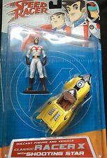 Speed Racer Die Cast Classic Racer X & Shooting Star Figure - Art Asylum