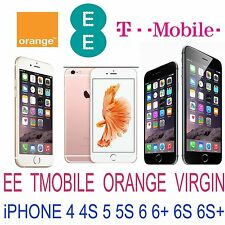 UNLOCK SERVICE FOR IPHONE 6S Plus 6S UK EE TMOBILE ORANGE (Blacklisted Supported