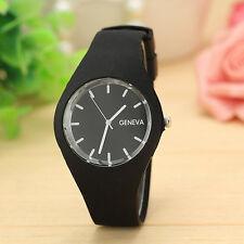 NEW Men Gents Women Ladies Silicon/Rubber Fashion Wrist Watch UNISEX Xmas Gift