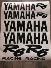 Yamaha 10 St. Set Sticker Aufkleber Motorrad Tuning R6 yzf