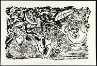 Kunst in der DDR, 1987. Serigraphie von Jürgen HÖRITZSCH (*1958 D), handsigniert