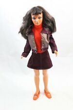 "IDEAL 1974 Tiffany Taylor 18"" Doll Flip Hair Black / Blonde Rooted Lashes"
