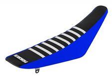 Yamaha Yzf 450 2010-2013 disfrutar de cubierta de asiento Lado Azul, Top Negro, Blanco Costillas