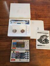 Bassmate Fishing Computer Nintendo Game & Watch Design 1984