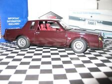 GMP 1:24 1986 Buick Regal Turbo T  Maroon) LE # 405 New-in-Boxes w/floor matts