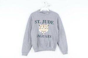 Vintage 90s Russell Athletic Youth Medium St Jude Jaguars Crewneck Sweatshirt