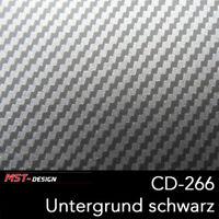 Wassertransferdruck Folie Film WTD WTP Starterset 4m Carbon CD-266 + Aktivator