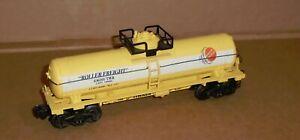 "x K Line O Gauge Trains . . ""Timken Roller Freight Tank Car #636101"""