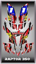 Yamaha raptor 350 YFM350  SEMI CUSTOM GRAPHICS KIT 0beb1