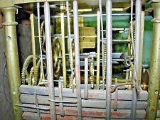 5 cloches horloge Kaminuhr pendule antik clock часы cartel Uhr no Comtoise