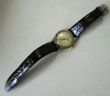 1940'S MENS HAMILTON OLD WATCH WINDING WRIST WATCH IN 10K GOLD FILLED CASE SOME