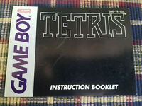Tetris - Authentic - Nintendo Game Boy - GB - Manual Only!