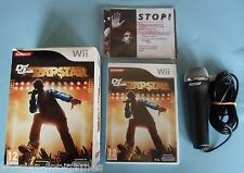DEF JAM RAPSTAR PACK - with game, manual, microphone & other stuff