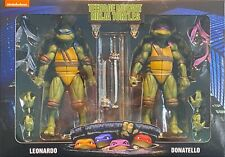NECA TMNT Leonardo/Donatello 2-Pack Walmart 90's Movie