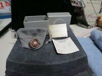 VINTAGE STYLE HEIDI DAUS PINK PEARL CRYSTAL ROUND RING - SIZE 10.5