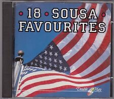 CD Band music  CD: 18 Sousa Favourites