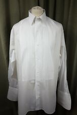 "Frederick Theak Evening Dinner Tuxedo Dress Shirt 17.5""/44cm C46"" For Studs"