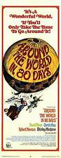AROUND THE WORLD IN 80 DAYS Movie POSTER 14x36 Insert David Niven Cantinflas