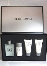 4 Pc Set GiorgioArmani ACQUA DIGIO 3.4oz edt Stick Balm Gel - NEW 59